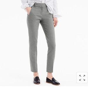 J.Crew// City Fit Stretch pant, size 2